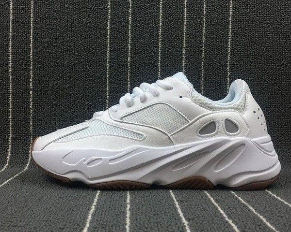 58d6a2f1401a04 Genuine Adidas Yeezy Boost 700 Wave Runner White Gum