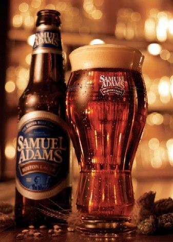 Samuel Adams Boston Lager  Boston Beer Company (Samuel Adams) Vienna Lager 4.90 (4)