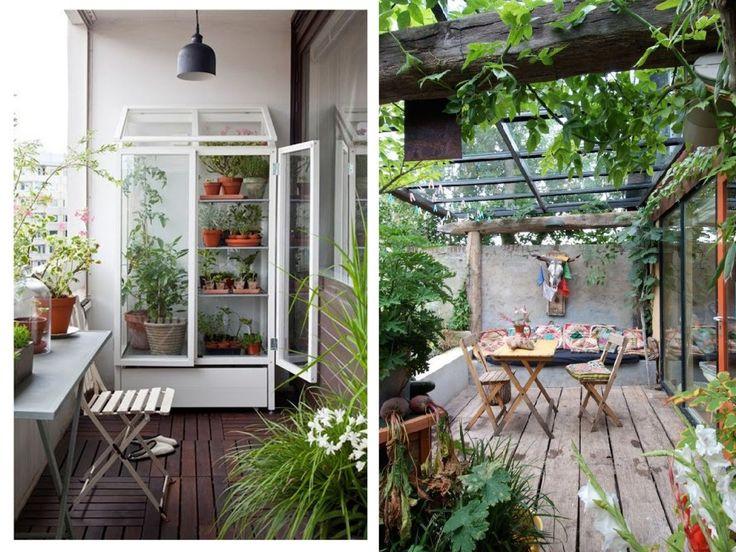25 melhores ideias de terrazas con encanto no pinterest - Jardines en terrazas pequenas ...