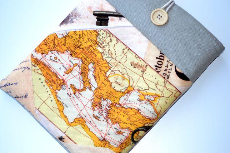 "world map europe map, 17 inch Laptop Sleeve,17"" Laptop case,17 inch Macbook Pro sleeve, Macbook pro 17 inch,17"" Custom Laptop Laptop sleeve by RCRAFTSS on Etsy"