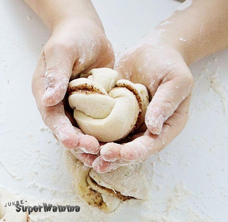 kanelknuter diy oppskrift gjærbakst