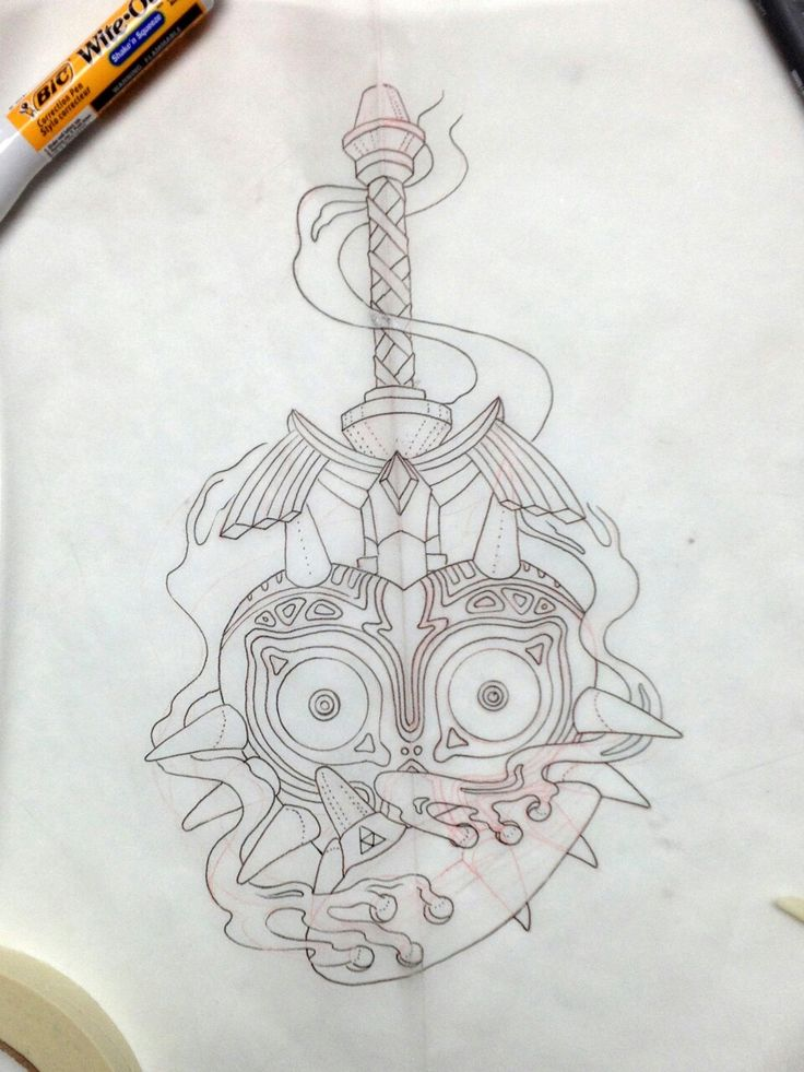 Next tattoo design, headed for my right forearm. Pumped! Finished drawing should be on the 13th, and first session should be next thursday :D