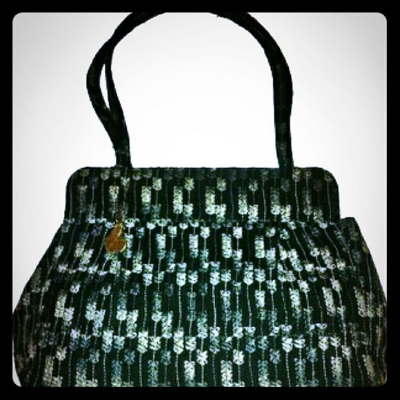 Anna Sui Tote NWOT! Anna Sui Tote,  has gold tone butterfly. Super cute!! Anna Sui Bags Totes