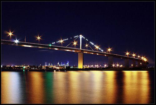 Westgate Bridge from Newport