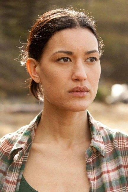 Julia Jones as Mercy Thompson, Coyote Shifter, Adam's mate