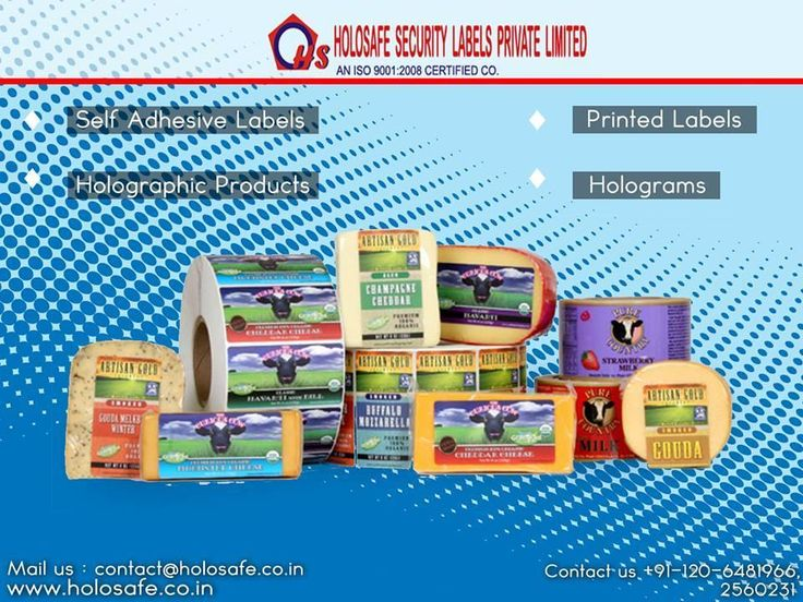 •Holosafe Security Labels offers additional features like holographic elements and covert security features.