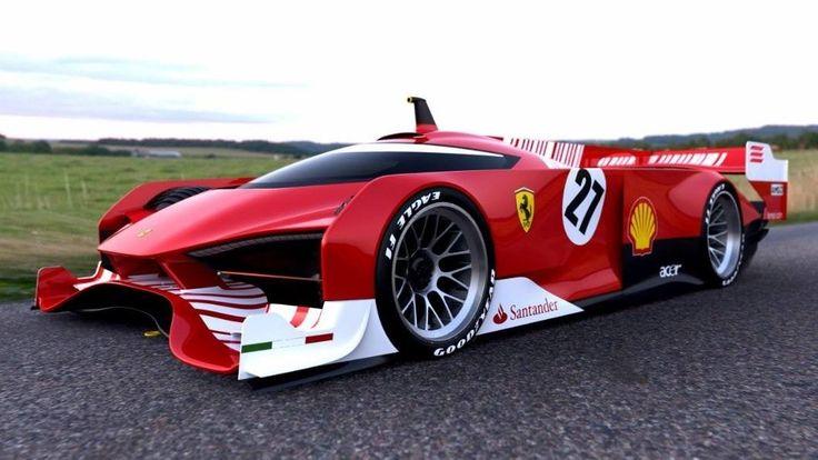 Ferrari Le Mans Concept Race Cars Pinterest