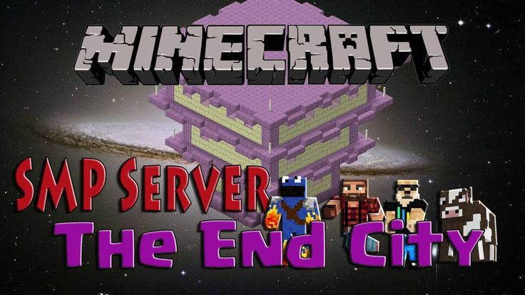 Minecraft - SMP Server - The End Cities