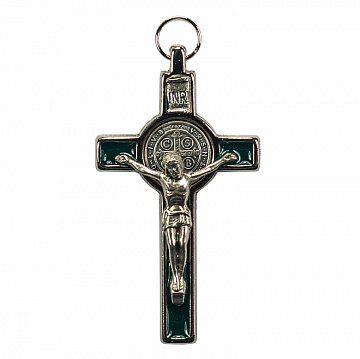 Krzyż Św. Benedykta granatowy - Produkty Benedyktyńskie    Krzyż Św. Benedykta jest jednym z najpopularniejszych sakramentaliów. Symbolizuje on podstawowe założenia duchowości benedyktyńskiej. W jego ikonografii zawarty jest...