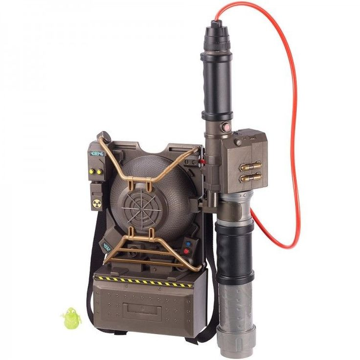Ghostbusters Electronic Proton Pack Projector Mattel - FREE SHIPPING #Mattel