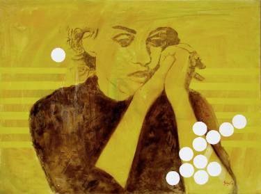 """Saatchi Art Artist Loredana Găină; Painting, """"Tempo 2"""" #art"""