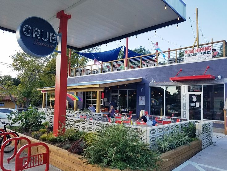 Grub Durham: A cool and hip diner located in a former gas station, Grub serves spun up diner fare at very reasonable prices. A great spot for breakfast, lunch or dinner.