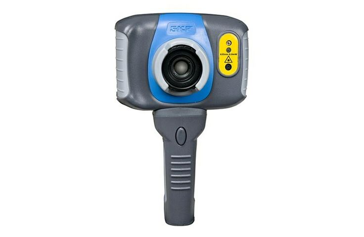 SKF Thermal Cameras TKTI 20. Four movable spot cursors track multiple hotspots at close and moderate distances. High thermal sensitivity display temperature differences quickly and easily • Advanced display options available for experienced thermographers,
