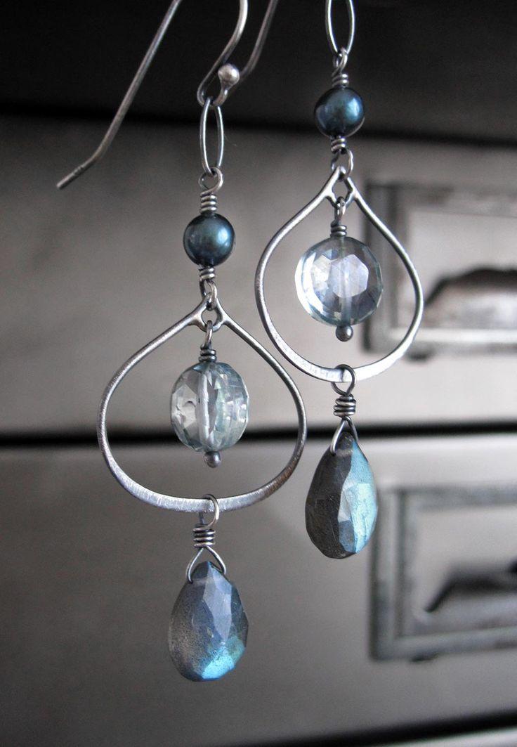 17 best ideas about Chandelier Earrings – Aqua Chandelier Earrings
