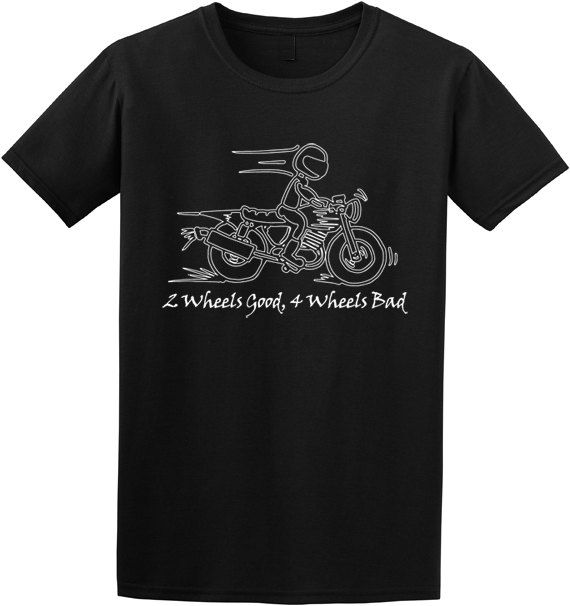 men 39 s motorcycle t shirt from edify clothing funny saying. Black Bedroom Furniture Sets. Home Design Ideas