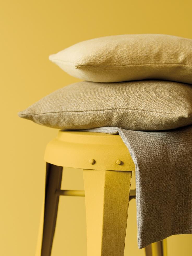 Yellow Wallpaper / Geel Behang collectie New Naturals - BN Wallcoverings