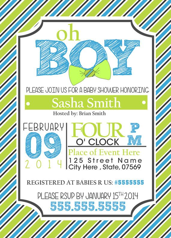 Bow tie themed baby shower invitations free printable invitation 8 best images about invitacin baby on pinterest filmwisefo Choice Image