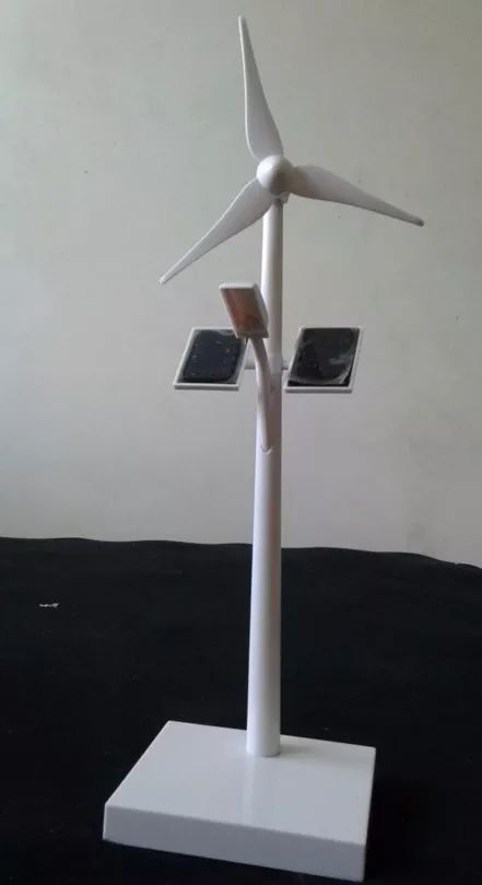 (6) * Lindo : Kit Mini Aerogerador , Placa Solar E Poste Luz Led - R$ 290,00 em Mercado Livre
