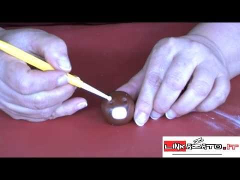 Tutorial realizzazione Orsetto in pasta di zucchero - Parte3