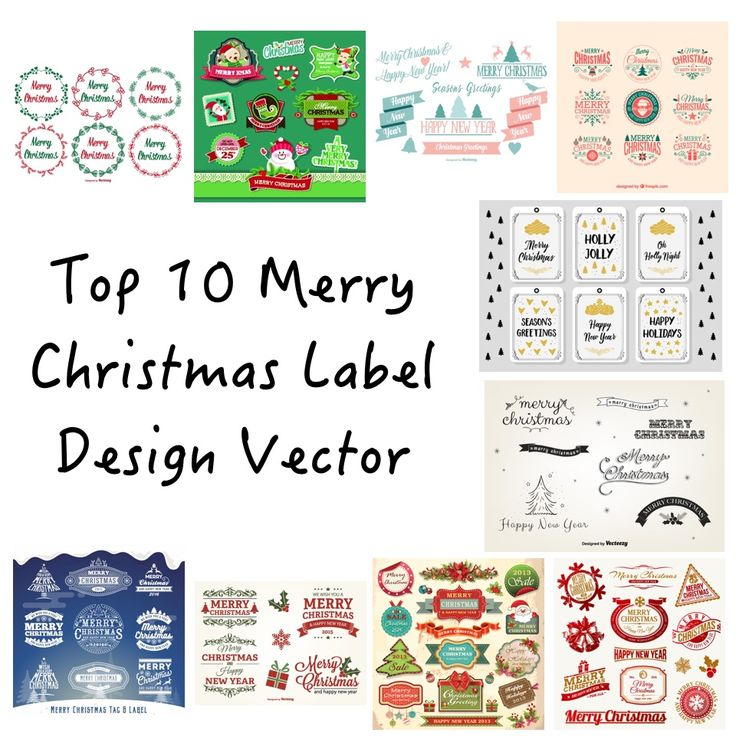 Stylish Christmas label design are perfect for invitations, Christmas cards, web sites and many more. Here is a list of my top 10 Christmas labels just great for use in your next Christmas holiday project.