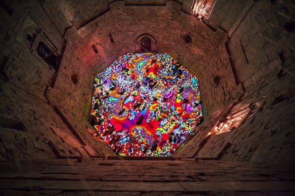 Magic Carpets, 2014, Castel Monte, Italy.