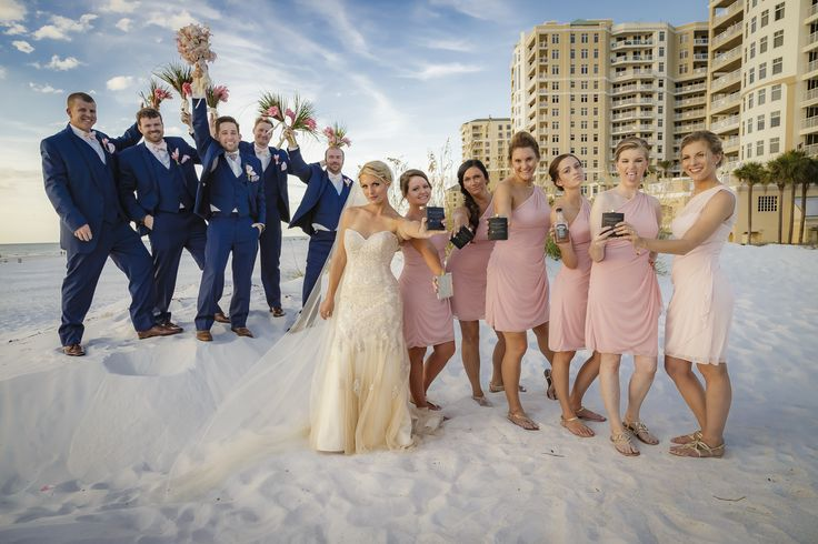 Fun shot at Hilton Clearwater Beach shot by our photographer in Clearwater Joe http://celebrationsoftampabay.com/photographers-clearwater-beach/