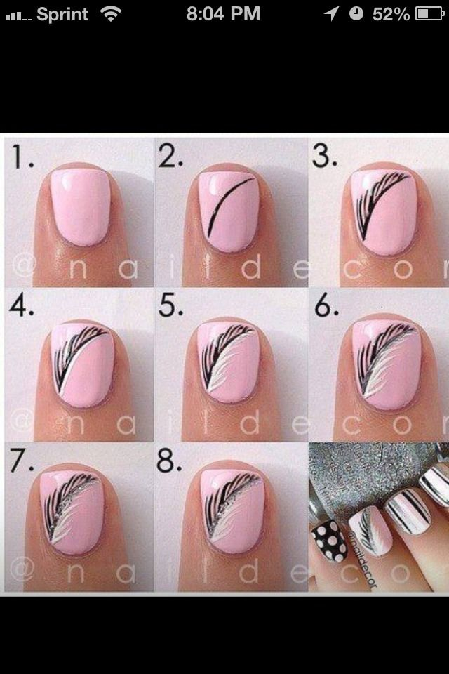 Want A Cute DIY Nails Design