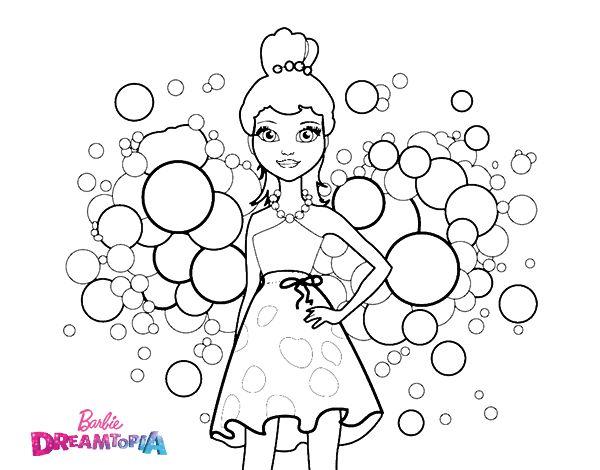 Dibujo de Barbie Princesa Rosa para Colorear | Color iT - My StRess ...