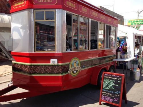 2015 Diner Trolley Style Concession Trailer Food Truck