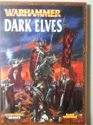 Warhammer Dark Elves Armies Book Games Workshop | eBay