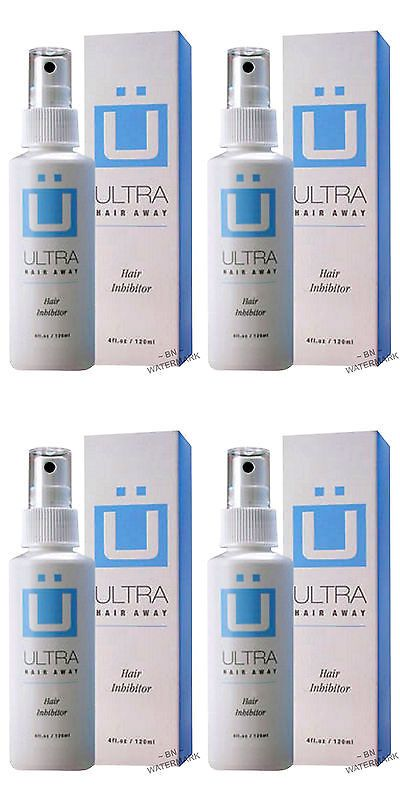 Hair Removal Creams and Sprays: Ultra Hair Away Spray 2 Month Removal Growth Inhibitor No Shaving No Body Hair BUY IT NOW ONLY: $79.8