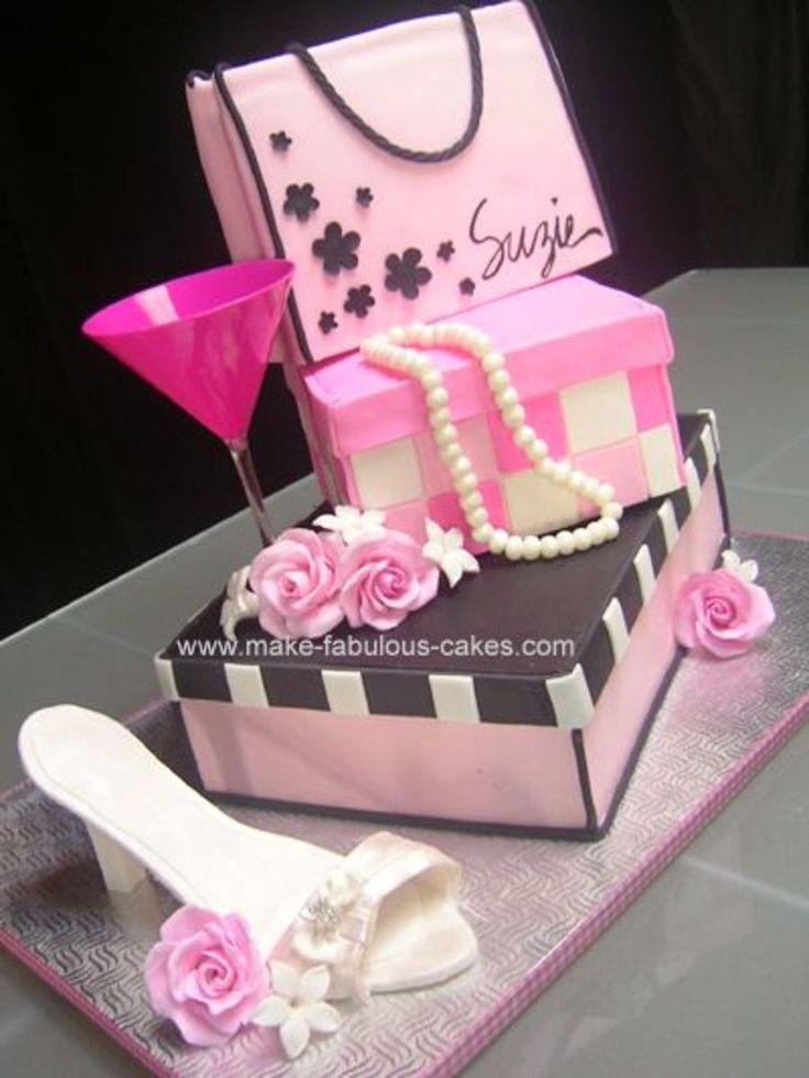 Shoe box is 9'' x 13'' sheet cake.  Gift Box...