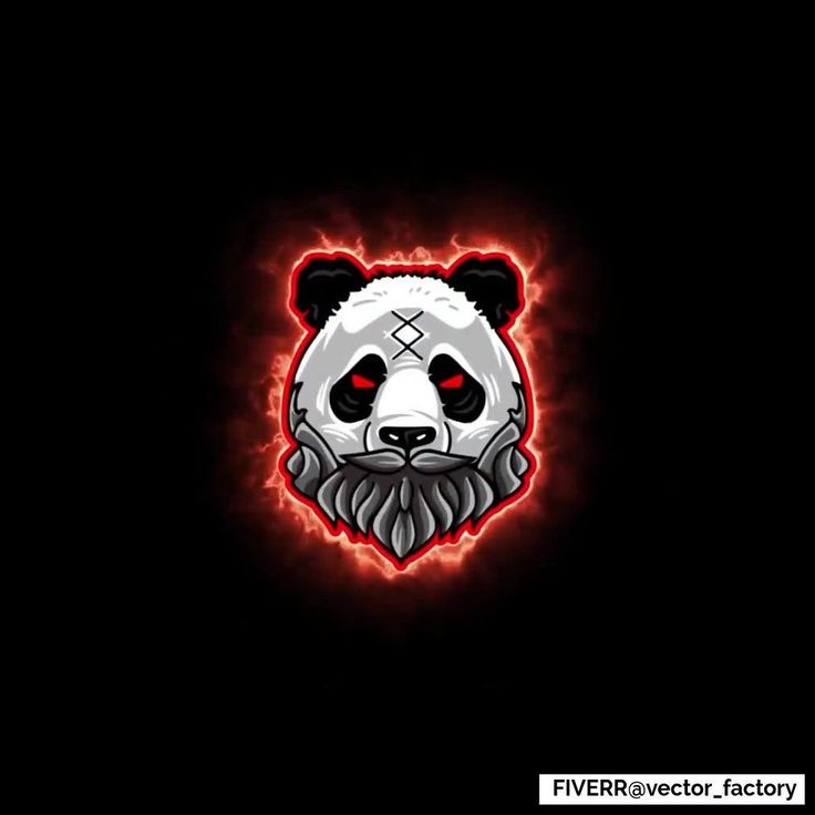 Desain Logo: Panda Gaming Mascot ESports Logo Animation