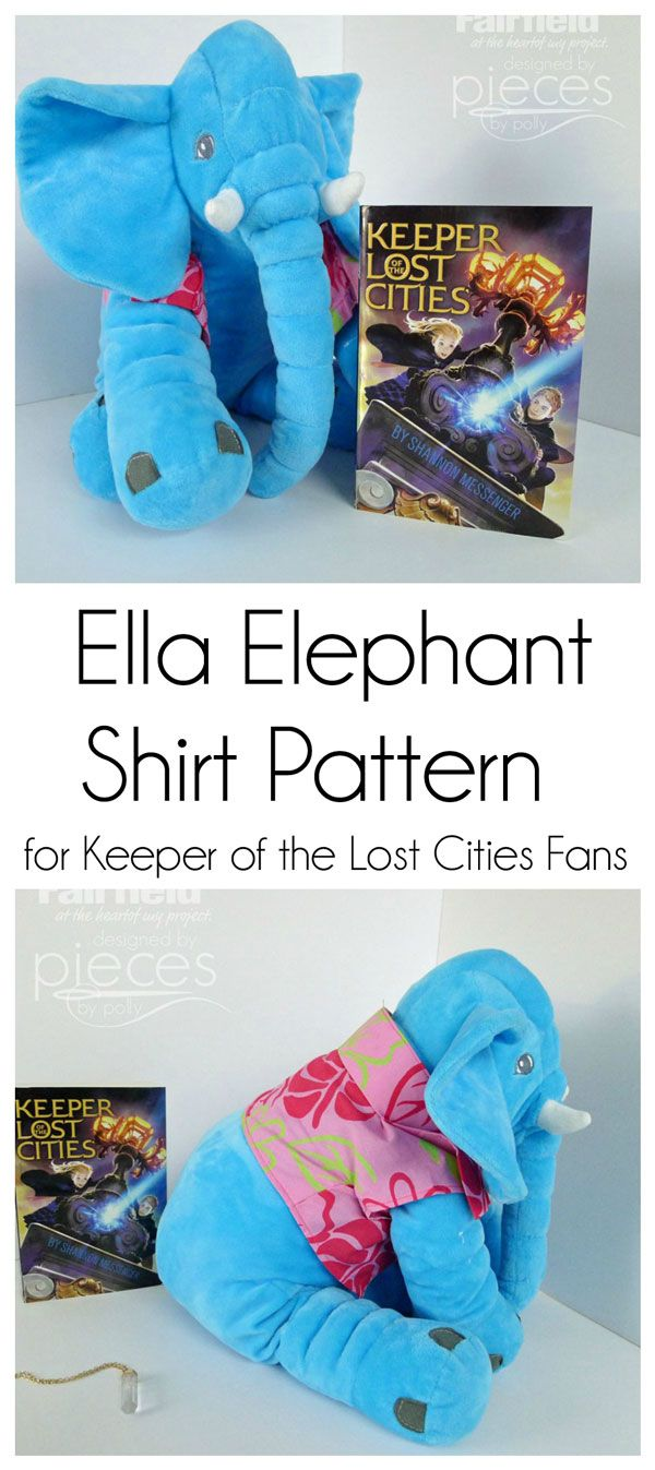 Keeper of the Lost Cities Fans will be familiar with Sophie Foster's Ella the Elephant. This free pattern can be used to make Ella's charac...