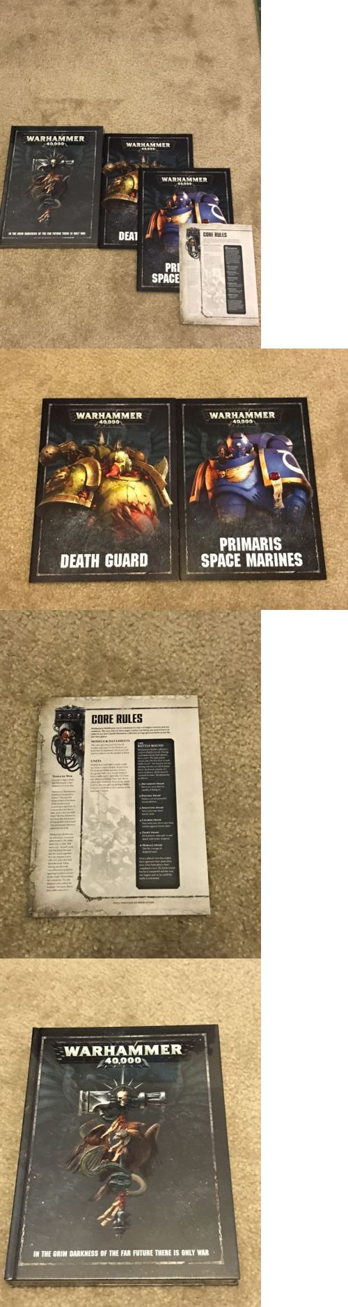 40K Rulebooks and Publications 90944: Warhammer 40K Dark Imperium Hardback Rulebook 8Th Edition + Extras -> BUY IT NOW ONLY: $33.5 on eBay!