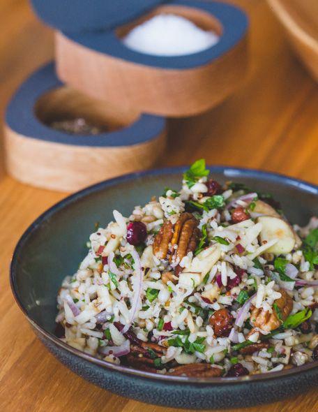 Yummie Rice Salad  www.cookameal.be #foodblog #foodblogger #recipe