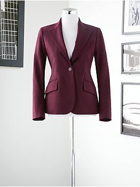 The color of this blazer would compliment #RachelMaddow hair color and show up great on camera #ItsRedsStyling