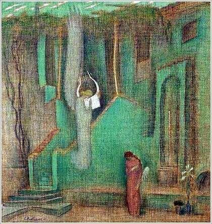 Contantinos Parthenis - Annunciation