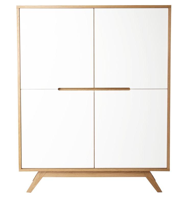 The Matt Blatt Klaus Tallboy Cabinet by Get The Look - Matt Blatt