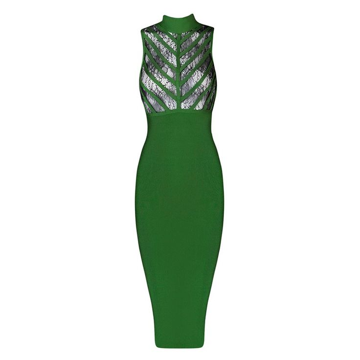 ==> [Free Shipping] Buy Best Shining Beauty High Quality 5 Colors Sexy Lace Bandage Dress 2016 Ladies Knitted Elegant Knee Length Bodycon Bandage Dress Online with LOWEST Price | 32808374379