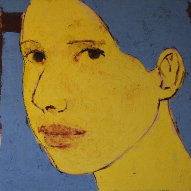 VALERIA | Pintura de Eduardo Salazar | Flecha
