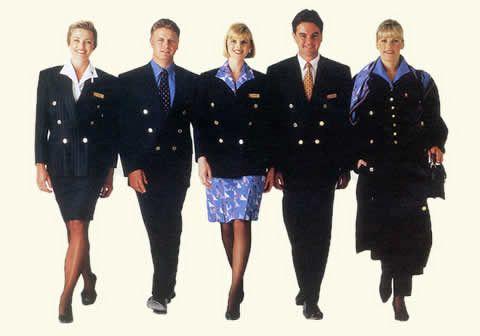 qantas uniform 90s - QF prem days