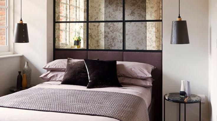 http://www.loveinteriors.co.uk/ #bedroom bespoke headboard #lovedetail