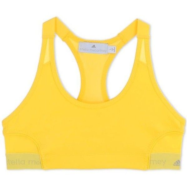 Adidas By Stella Mccartney Yellow Sports Bra (1.565 UYU) ❤ liked on Polyvore featuring activewear, sports bras, tops, underwear, yellow, adidas sportswear, adidas, yellow sports bra, adidas sports bra and adidas activewear