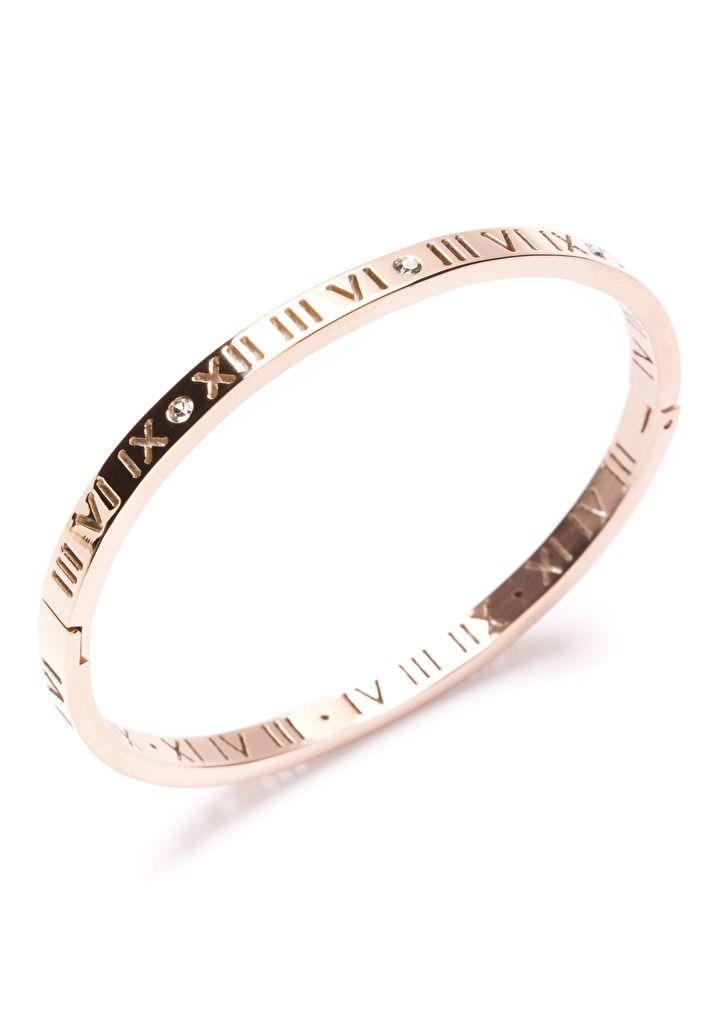 Eternity Time Bracelet in Rose Gold @happinessboutique.com