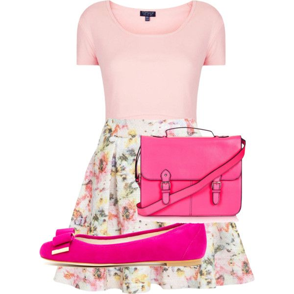 """Pink Flower"" by edinisyafitri on Polyvore"
