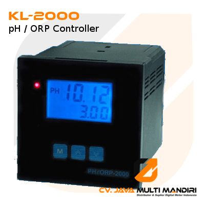 Pengontrol pH / ORP Controller Seri KL-2000
