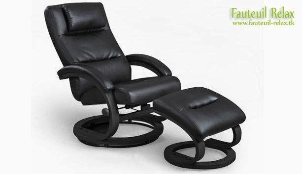 Le fauteuil relax et son repose pieds COOL