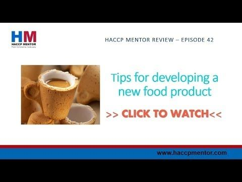 Tips for developing a new food product