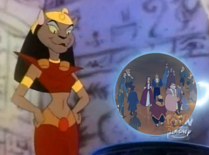 Mirage from Aladdin TV Series